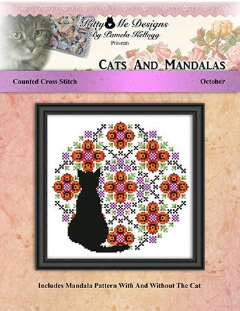 click here to view larger image of Cats And Mandalas October (chart)