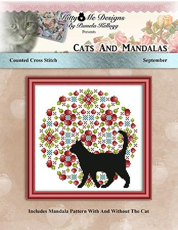 click here to view larger image of Cats and Mandalas September (chart)