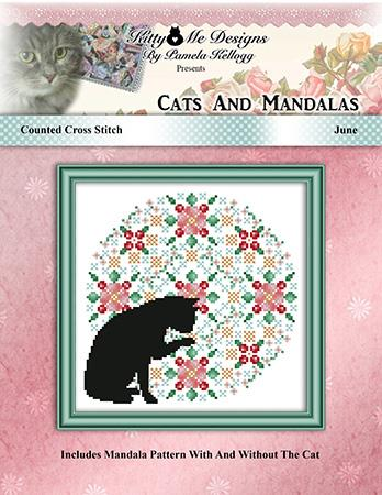 click here to view larger image of Cats and Mandalas June (chart)