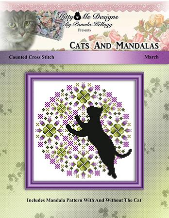 click here to view larger image of Cats and Mandalas March (chart)
