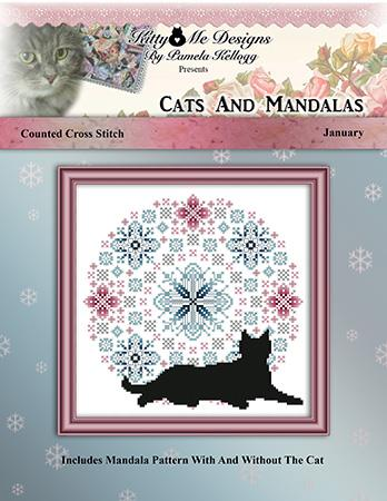 click here to view larger image of Cats and Mandalas January (chart)