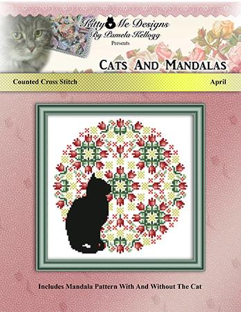 click here to view larger image of Cats and Mandalas April (chart)