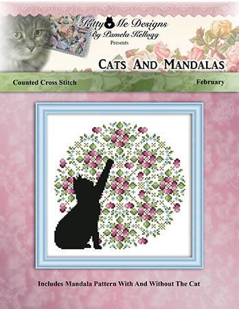 click here to view larger image of Cats and Mandalas February (chart)