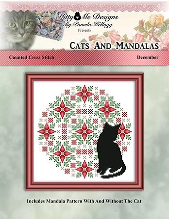 click here to view larger image of Cats and Mandalas December (chart)