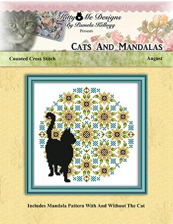click here to view larger image of Cats and Mandalas August (chart)