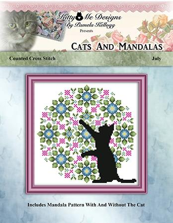 click here to view larger image of Cats and Mandalas July (chart)