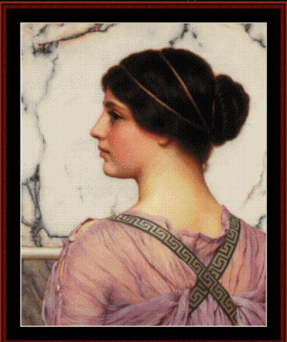 click here to view larger image of A Grecian Lovely, 1909 (John William Godward) (chart)