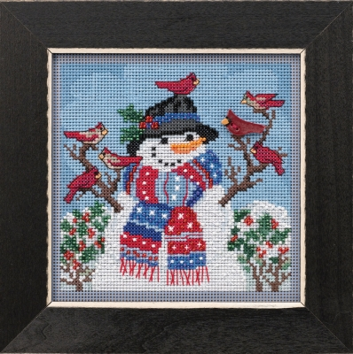 click here to view larger image of Winter Welcome (2019) (counted cross stitch kit)