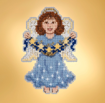 click here to view larger image of Celestial Angel (counted cross stitch kit)