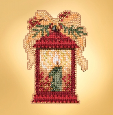 click here to view larger image of Christmas Lantern (counted cross stitch kit)