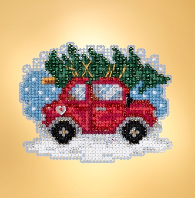 click here to view larger image of Tree Shopping (counted cross stitch kit)