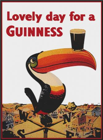 click here to view larger image of Lovely Day for a Guinness (chart)