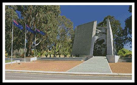 click here to view larger image of Australian Vietnam Forces National Memorial (chart)