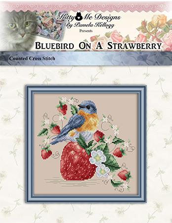 click here to view larger image of Bluebird On A Strawberry (chart)