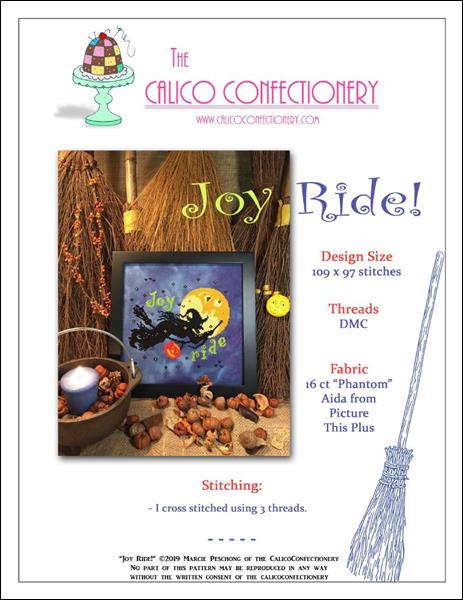 click here to view larger image of Joy Ride (chart)