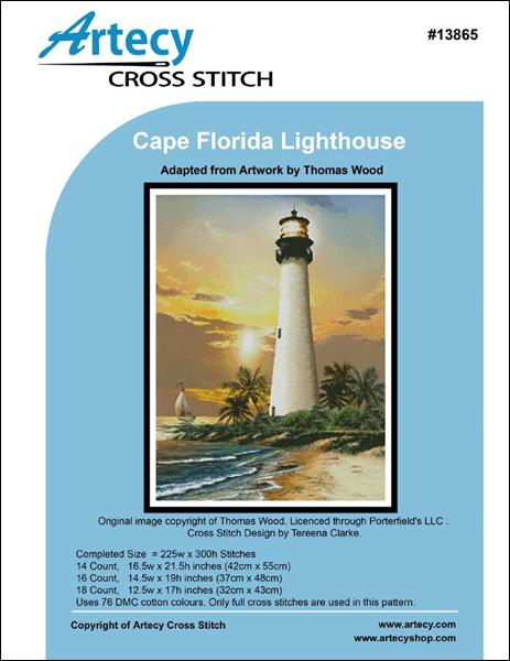 click here to view larger image of Cape Florida Lighthouse (chart)