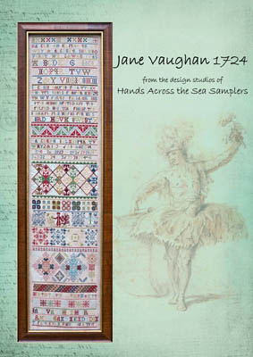 click here to view larger image of Jane Vaughan 1724 (chart)