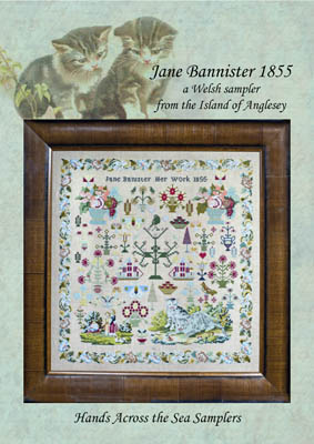 click here to view larger image of Jane Bannister 1855 (chart)