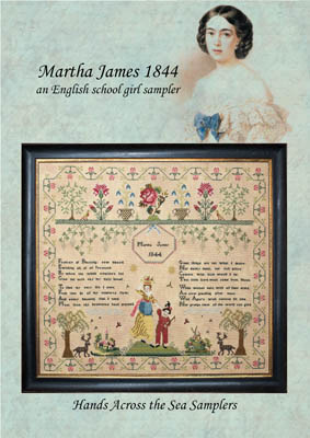 click here to view larger image of Martha James 1844 (chart)