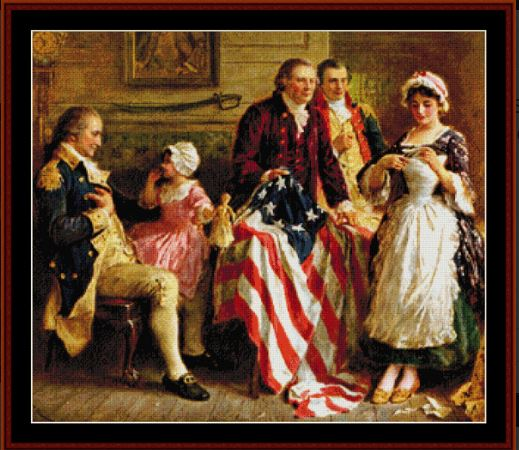 click here to view larger image of Betsy Ross (chart)