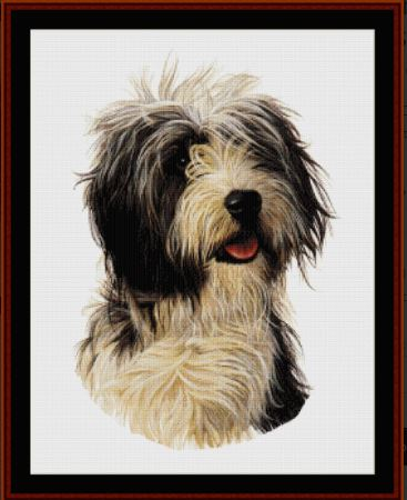 click here to view larger image of Bearded Collie  (chart)