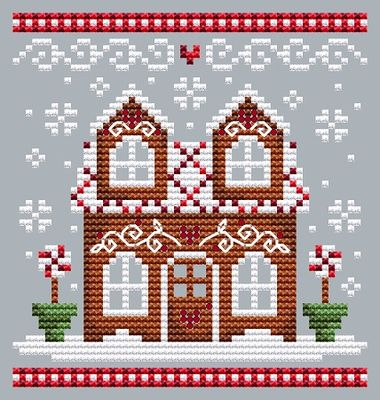 click here to view larger image of Gingerbread House 2 (chart)