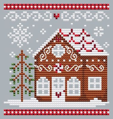 click here to view larger image of Gingerbread House 3 (chart)