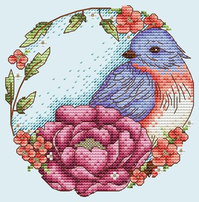 click here to view larger image of Blue Bird (chart)