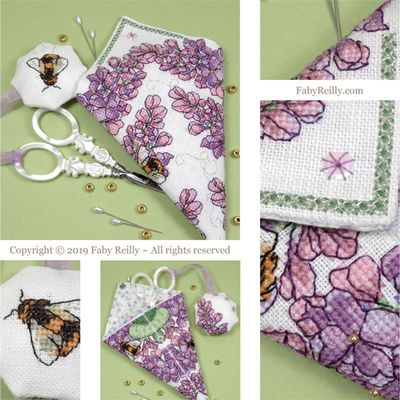 click here to view larger image of Lilac Scissor Case (chart)