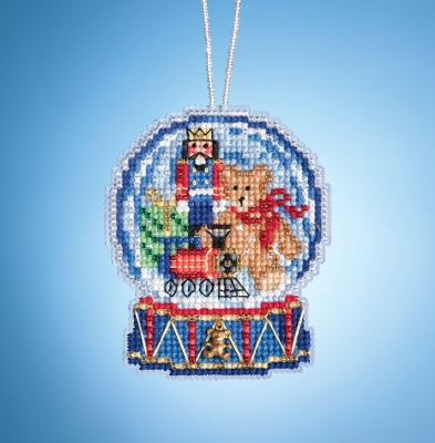 click here to view larger image of Toy Shop Globe (2019) (counted cross stitch kit)