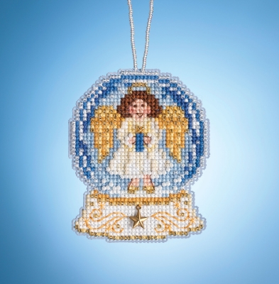 click here to view larger image of Angel Globe (2019) (counted cross stitch kit)