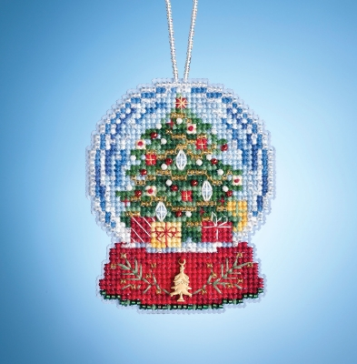 click here to view larger image of Christmas Tree Globe (2019) (counted cross stitch kit)