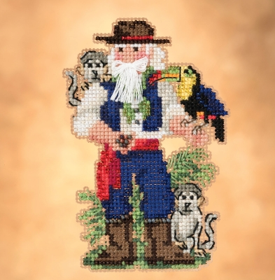 click here to view larger image of Amazon (2019) - South American Santas (counted cross stitch kit)