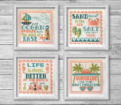 click here to view larger image of Summer Signs (4 designs) (chart)