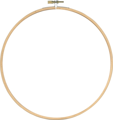 click here to view larger image of Embroidery Wooden Hoop (accessory)