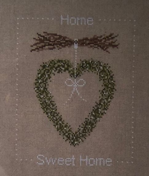 click here to view larger image of Home Sweet Home (Une Croix le Temps) (chart (special))