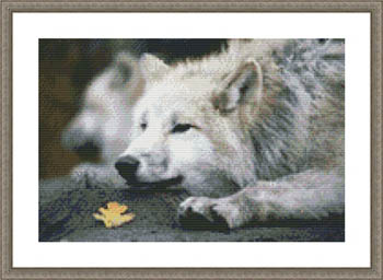 click here to view larger image of Lounging Wolf (chart)