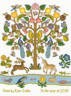 click here to view larger image of Tree Of Plenty (counted cross stitch kit)
