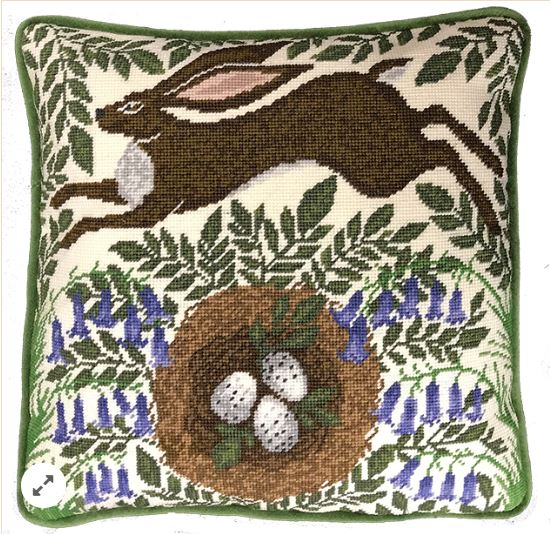 click here to view larger image of Spring Hare Tapestry (counted cross stitch kit)