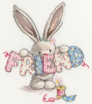 click here to view larger image of Friend (counted cross stitch kit)