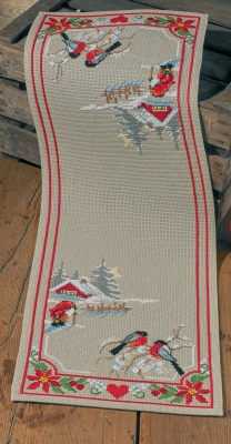 click here to view larger image of Christmas Night - Runner (counted cross stitch kit)