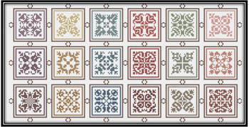 click here to view larger image of Symmetrical Squares From 1603 (chart)