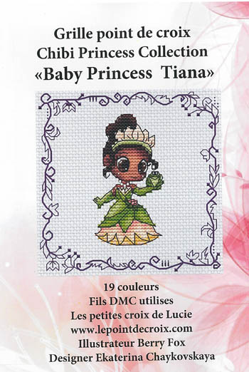 click here to view larger image of Baby Princess Tiana (chart)