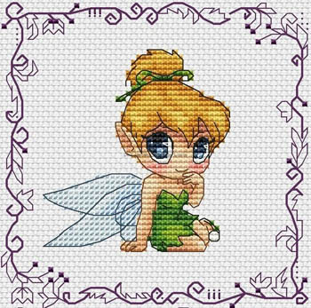 click here to view larger image of Baby Princess Tinker Bell (chart)