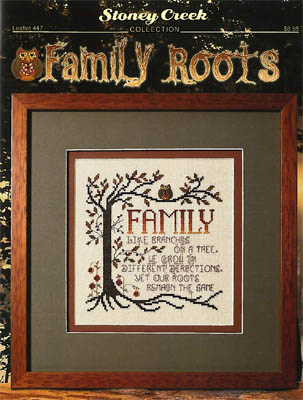 click here to view larger image of Family Roots (chart)