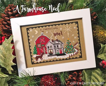 click here to view larger image of Farmhouse Noel, A (chart)