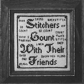 click here to view larger image of Stitcher's Count (chart)
