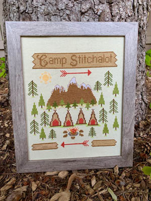 click here to view larger image of Camp Stitchalot (chart)