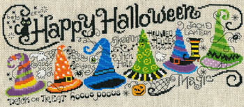 click here to view larger image of Happy Halloween Quintet (chart)