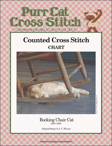 click here to view larger image of Rocking Chair Cat (chart)
